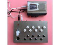 Onde Magnétique - handmade cassette tape synthesiser like Mellotron unique! OM1