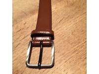 Men's belt, worn twice, AS NEW CONDITION