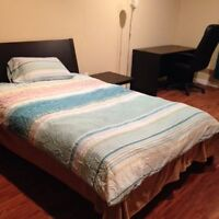 Great Location! Two fully-furnished basement rooms for RENT Watc