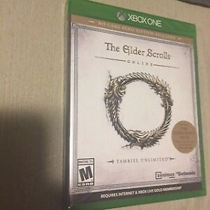 The Elder Scrolls Online - Tamriel Unlimited for Xbox One