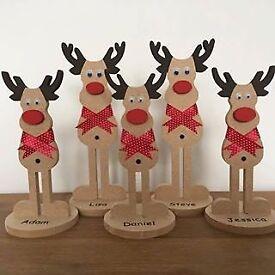Free standing reindeer