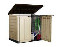 Outdoor Plastic storage box large