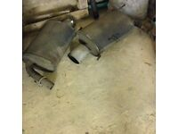 Honda Accord Type R Stainless Steel Exhaust Back Boxes
