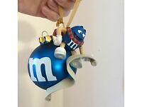 M&M Naught and Nice Christmas Bauble