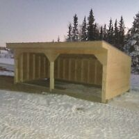 Animal Shelters (Free Delivery within 200 km)   Sheds