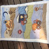 Ensemble de literie pour Bébé + couvertures+ draps
