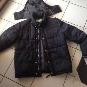 9dc3adb275ca Mens New Black Bubble Jacket