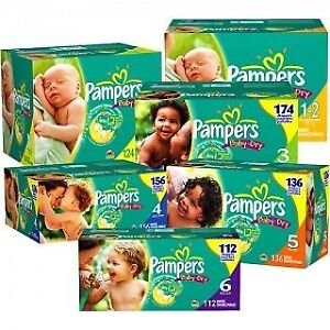 BABY DIAPERS! 29.99 - All SIZES