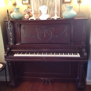 Antique Upright Grand Piano - Purchased from the Piano Doctor