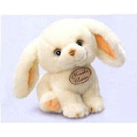 """Yomiko Newborn White Bunny 8.5"""" by Russ Berrie"""