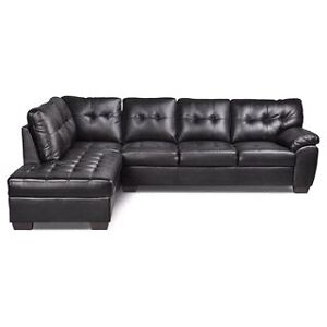 WANTED - Leather/Faux Leather Sectional