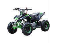 New Kids 49cc Z20 quad bikes free uk delivery