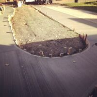 Concrete/interlock/stamp asphalt/landscaping