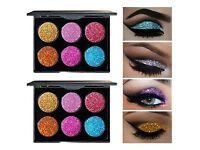 Glitter palettes