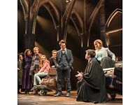 * 4 tickets Harry Potter and The Cursed Child * Saturday 17th February