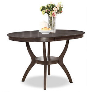 Dining Table - Brown-Grey NEW IN BOX