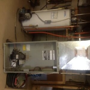 Oil Furnace and Hot Water Tank - $500