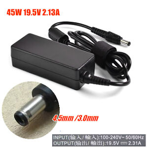 For Dell 19.5V 2.31A (45W) 4.5mm X 3.0mm Power Adapter