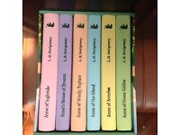 The Anne of Green Gables 6 Book Collection - Ages 9-14 - Cloth Bound Hardback - Lucy Maud Montgomery