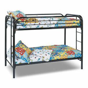 Twin Bunk Bed - The Brick Furniture