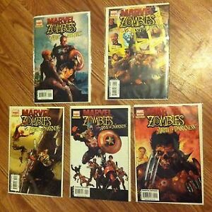 *MINT* Marvel Zombies vs. Army of Darkness issues  # 1-5 Belleville Belleville Area image 1
