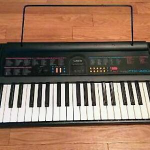CASIO CTK 480 Keyboard with Power Cable