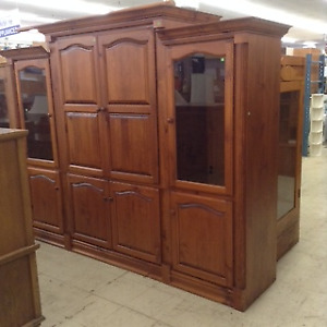 Luxurious wooden cabinet at a non-luxurious price!