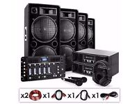 DJ PA Set Bass First Pro Bluetooth 4000W