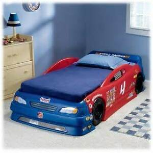 Step2 Stock Car Convertible Toddler to Twin Bed Campbell River Comox Valley Area image 2