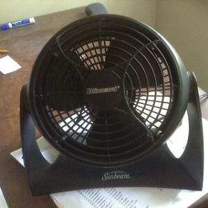 2 Sunbeam fans $8 each or $15 for two
