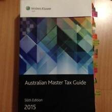Australian Master Tax Guide 2015 Haymarket Inner Sydney Preview