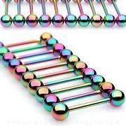 Titanium Tongue Bars