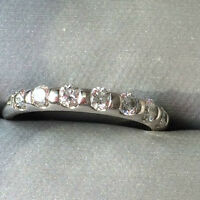 BIRKS 18kt white gold diamond band