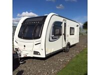 2012 Coachman Pastiche 560/4 Touring Caravan with Motor Mover & Porch Awning