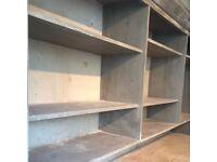 Hand Painted Shop Shelf Unit (2 of 2)