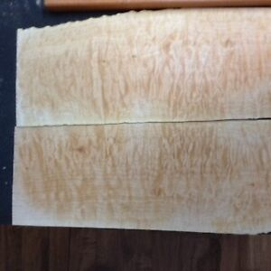 Quilted Maple guitar top