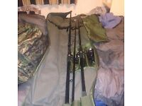 Carp Fishing Set Big bundle very cheap!!! be Fast 8pm 22/11/17 dead line