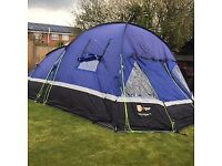 Hi Gear voyager 6 tent & footprint (will include carpet free- slightly damaged one corner)