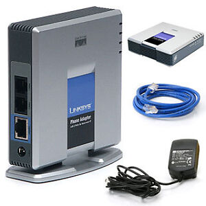 Linksys PAP2T VOIP Phone Adapter with 2 FXS Phone
