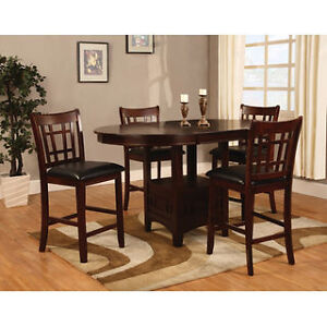 Dalton Casual Counter Height Dining Set