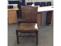 Antique style conference/ dining chairs