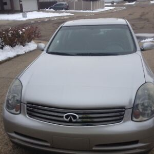 2003 Infiniti G35 Aero Package Sedan LOW MILEAGE