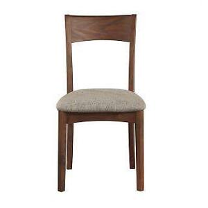 Dining Chair with Walnut Finish