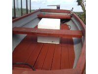 16ft fibreglass boat