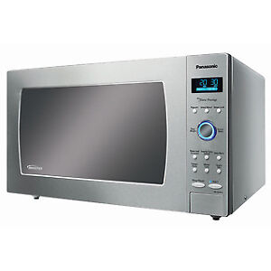 notax sale-microwave panasonic-1.6CUFT--stainless steel-$139.99