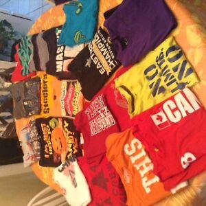 Huge lot of 20 boys size 10-12 t-shirts