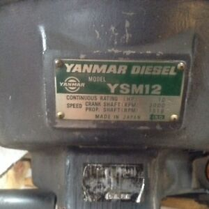 Sailboat Engine Yanmar YMS 12