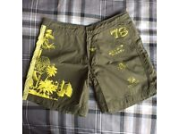 Diesel Swimmer Beach shorts Size small