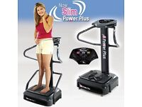 Powerplate for sale! Now Slim Power plus vibration plate for sale in Kilmarnock