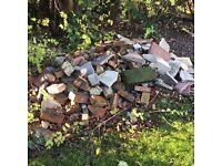 Hard Core - old broken bricks etc